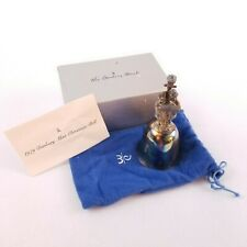 The Danbury Mint 1979 Silver Plated Christmas Carolers Bell Original Box and CoA