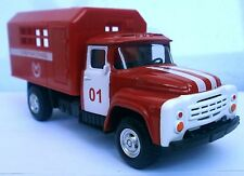 Play smart ZIL 130 USSR fire engine Truck 1:52 (120mm) Scale Diecast NEW