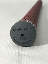 New Taylor Made Burgundy Grey Cap Golf Pride 360 Standard Size Grip RARE