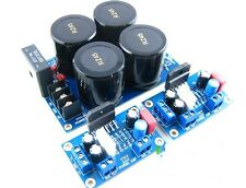 LM3886 Amp Board+rectify filter LM3886TF KIT Amplifier DIY 2 CHANNELS NOVER CAPS