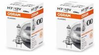 2 Stück Osram Classic H7 12V 55W PX26d Autolampen Abblendlicht