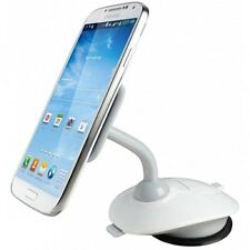 Mount for Smart Phones - White Cygnett Stick Mount Pivot Car or Desk