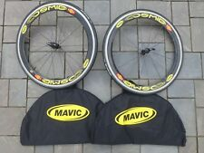 MAVIC COSMIC CARBONE SSC TUBULAR 10 SPEED CARBON WHEELSET WHEEL ZIPP TANGENTE SL