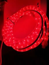 Flexible Indoor/Outdoor Red Strip Waterproof Neon Lights Silicone Tube 18Ft-Ex-A