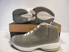 AND1 CHOPS MID TRAINER SPORTS BASKETBALL SNEAKER MEN SHOES GREY/WHITE SIZE 8 NEW