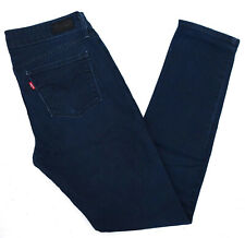 Levi's Damen Jeans Hose Feminin Slim stretch Mid Rise Skinny W28 L32 Blau C544