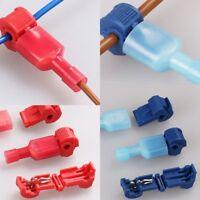 50Pc Car Quick Splice Lock Wire Terminals Connectors Electrical Crimp Cable Snap