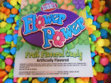 Flower Power 1 Lb Candy coated dextrose flowers Groovin Dubble Bubble Nut Free