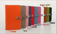 100% Genuine leather Multi-Color Passport Clutch Purse Handbag Cards Holder