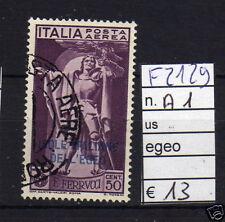 FRANCOBOLLI ITALIA COLONIE EGEO USATI N°A1 (F2129)
