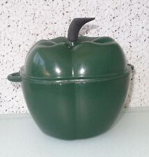INNOVA 2qt Pepper Porcelain Enameled Cast Iron dutch oven bakeware casserole pan