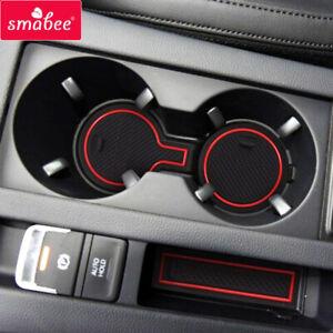 Gate Slot Cup Mat for VW Passat B8 2015 ~ 2019 Estate GTE Cup Holder Accessories