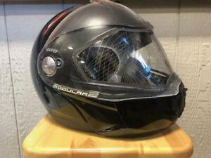 Ski-Doo Modular 2 Helmet Gloss Black Size: X- LARGE New in Box  447521 XL