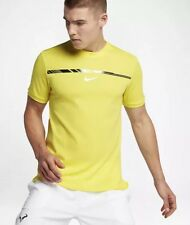$100 Nike AeroReact Rafael Nadal Challenger Mens Size SMALL Tennis Shirt 854662