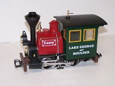 LGB CASEY 92377 0-4-0 Lighted Engine Lake George and Boulder