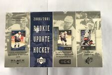 2000-01 Upper Deck Rookie Update Factory Sealed Hockey Hobby Box