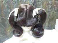 Global doll wig JANEY 9-10 DARK BROWN like real girls  reborn