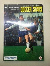 FKS 1968/69 Wonderful World of Soccer Stars Sticker Album, Complete,  good cond
