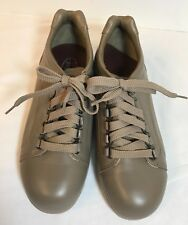 Drew Barefoot Freedom Orthotic Womens Shoes Size 8.5M Tan Leather Oxfords NWOT