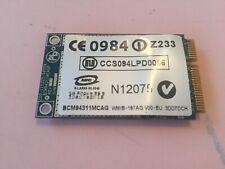 Carte wifi pc portable BCM94311MCAG HP PAVILION DV9000 pièce détaché