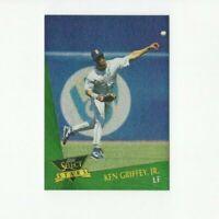 1993 Select Stars Ken Griffey Jr. RARE Insert Card #19 HOF Mariners CF
