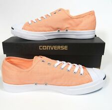 78855e1d930e Mens Converse Jack Purcell Signature OX Low Sunset Glow Canvas Coral 155634C