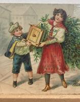 Vintage Postcard, Christmas 1919 Wishing you a Merry Christmas P81
