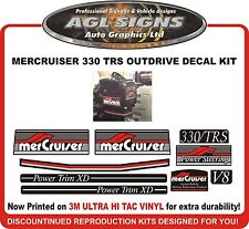 Mercruiser 330 TRS V8 Outdrive 9 Piece Decal Kit