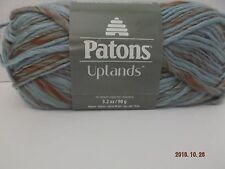 Patons Uplands Yarn ~#5 Bulky ~ Wool Blend ~ Sante Fe Mix  ~ 3.2 oz ~ 99 yards