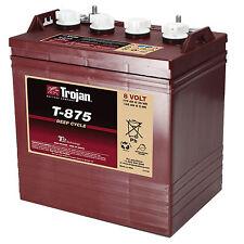 Pack de 6 Batteries Trojan T-875 8v 145Ah/5h 170Ah/20h