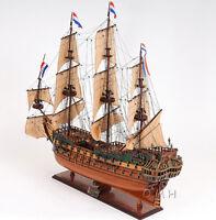 """Holland Frigate Friesland Wooden Model 29"""" Dutch Tall Ship Built Sailboat New"""