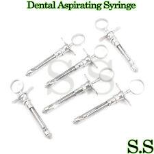 6 Dental Aspirating Syringe Dental Instruments 18cc