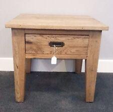 Antique Oak 1 Drawer End Table
