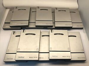 Lot of 12 Brother MW-140BT Mobile Thermal Printer