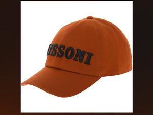 MISSONI Baseball Cap Logo Cap RRP £165