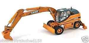 Herpa # 6487 Case WX 185SR Excavator  Yellow, Black  HO MIB