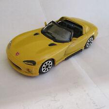 32E Burago 4165 Dodge Viper RT/10 Jaune 1:43