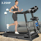 3.25HP Folding Treadmill Home Duty Heavy Electric Incline Running Machine ** NEW