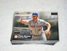 2020 Topps Series 2 Pete Alonso Empire State Award singles - complete your sets