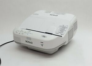 EPSON BRIGHTLINK 595Wi WXGA 3LCD 3300 LUMENS UST SHORT THROW PROJECTOR 1499HR