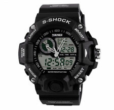 Unbranded Digital Military Wristwatches with 12-Hour Dial