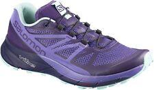 Salomon Sense Ride Womens Trail Running Shoes - Purple
