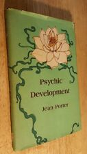 Psychic Development by Jean Porter (1974, Hardcover) First Edition First Print..