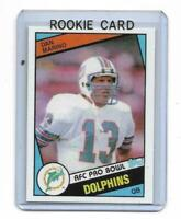 1984 Topps # 123 DAN MARINO ROOKIE RC REPRINT Miami Dolphins SWEET LOOK !