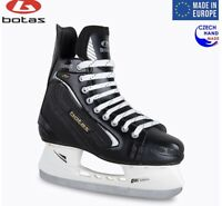 Botas Draft 281 Hockey Ice Skates Mens Black Leather Size 6 Ice Hawk Pro Blades