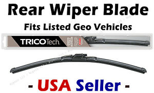 Rear Wiper - Premium Beam Blade - fits Listed Geo Vehicles - 19160