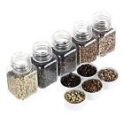 100-1000p 5mm Silicone Foderato Micro Anelli Perline Beads per Capelli Extension