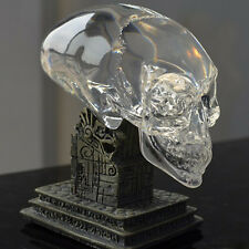 Mayan Indiana Jones Kingdom of Crystal Alien Skull Statue Figure Collection Gift