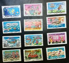 """carnet De timbres 2015 """"Bonnes Vacances"""" oblitérés Et Décollés Très Bon État"""