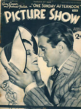 PICTURE SHOW, 10 March 1934, Gary Cooper, Gordon Harker, Ray Milland, Myrna Loy*